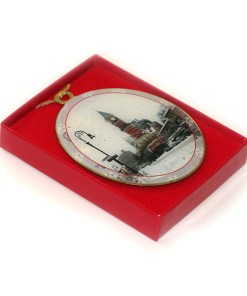Jefferson Market Greenwich Village New York Christmas Ornament in a Gift Box