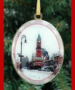 Jefferson Market Greenwich Village New York Christmas Ornament from NY Christmas Gifts