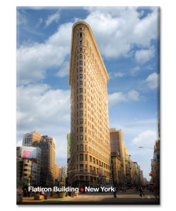 Flatiron Building New York Photo Magnet at NY Christmas Gifts