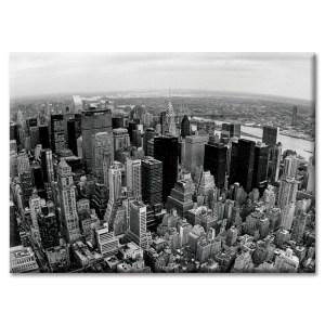 Midtown Skyline Panorama New York Photo Magnet