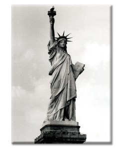 Statue of Liberty New York Photo Magnet from NY Christmas Gifts
