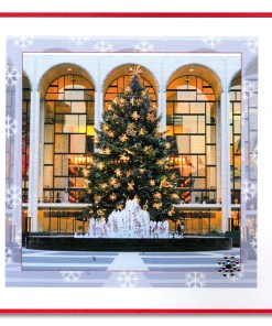 Lincoln Center Handmade Card HHC9958 from NY Christmas Gifts