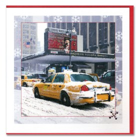 Madison Square Garden Handmade Card HHC9348 from NY Christmas Gifts