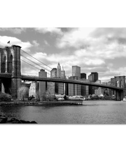 Brooklyn Bridge Panorama New York Art Print MP-1007