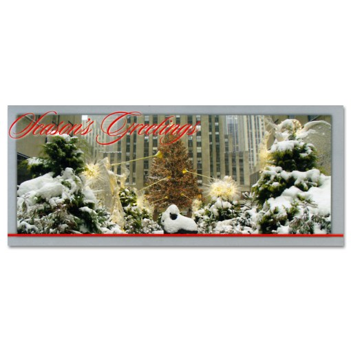 Holidays at Rockefeller Center Money Cards Holders Set of 8 MC52956