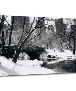 Love Bridge Winter 16x24 Canvas MP-1006