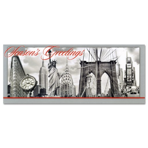 NYC Landmarks Collage Money Cards Holders MC52210
