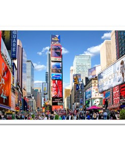Times Square Panorama Art Print Poster MP-1229