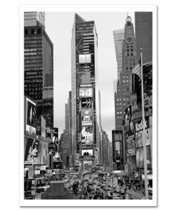 Times Square South New York BW Art Print Poster MP-1032