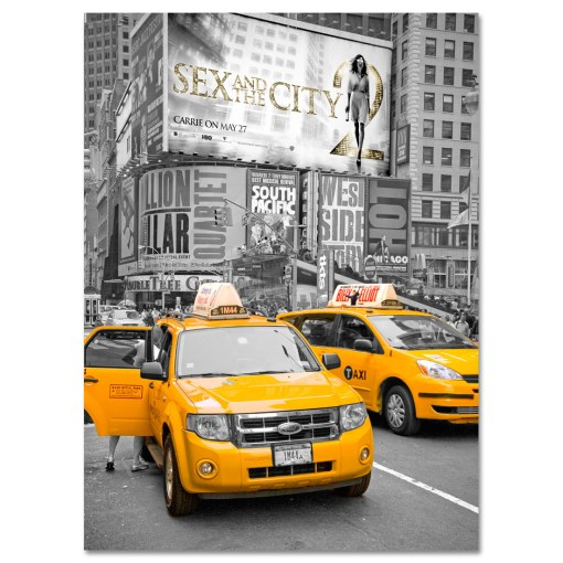 Yellow Cabs on Times Square II Art Print MP-1228