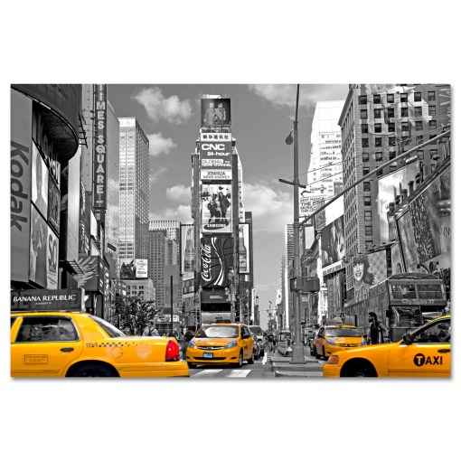 Yellow Cabs on Times Square III Art Print MP-1204