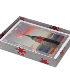 Empire State Building Lights NY Christmas Cards CGC8364 box