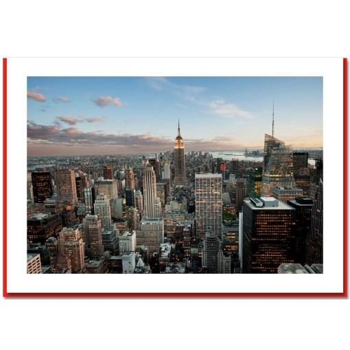 Empire State Panorama Handmade Photo Card HPC1447
