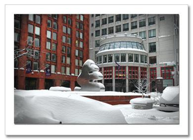 NYU Stern School of Business NY Christmas Card HPC-2948