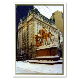 Plaza Hotel NY Christmas Cards BGC111