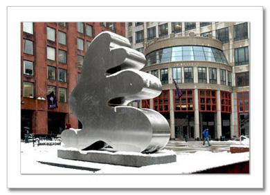 Stern School of Business NYU NY Christmas Card HPC-2947