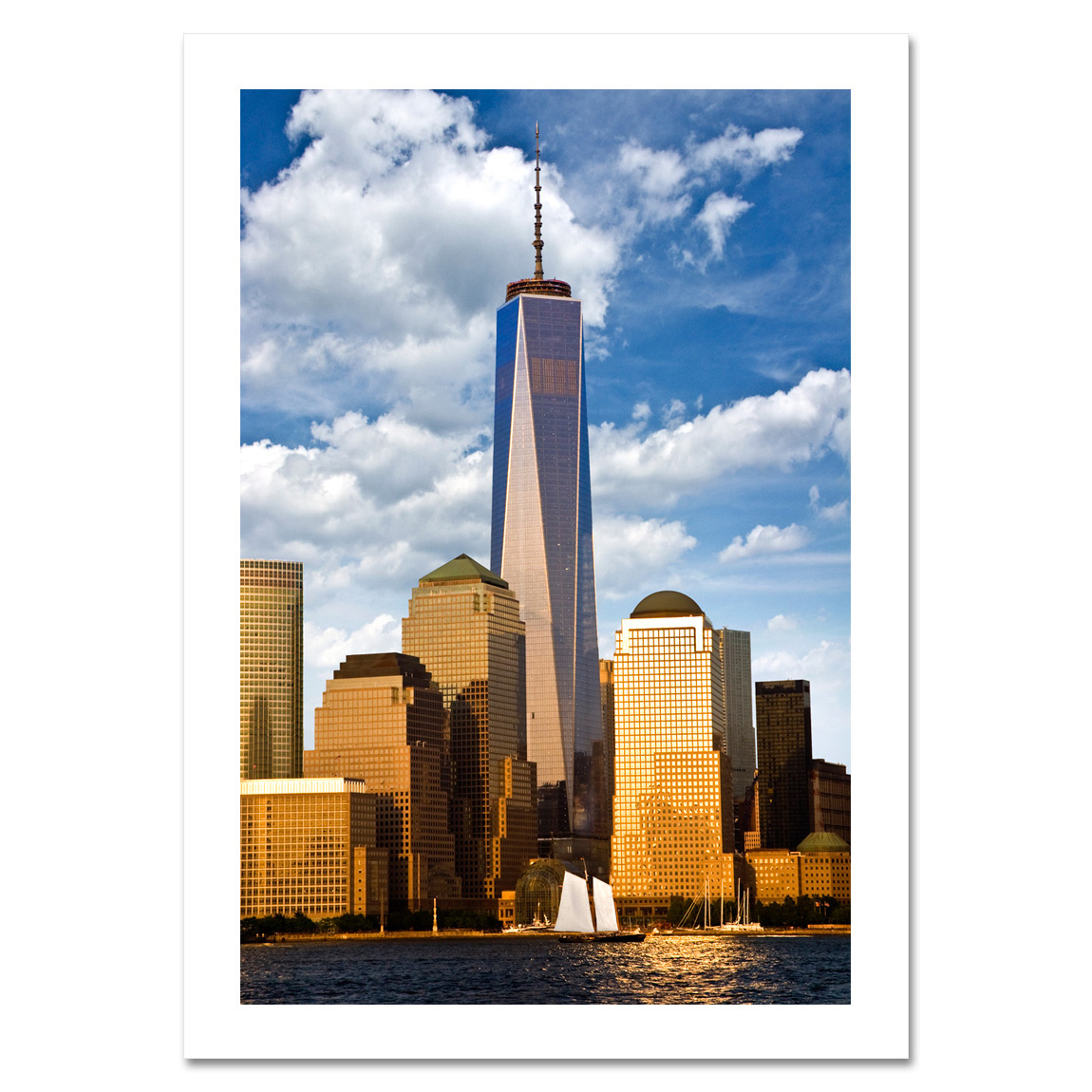 Freedom Tower Downtown Manhattan - NYC Christmas Card - NY Christmas ...