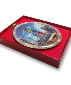 Times Square Taxi Christmas Ornament CO48289 from NY Christmas Gifts box
