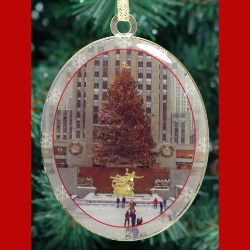 Rockefeller Center Rink Christmas Ornament CO48953 from NY Christmas Gifts