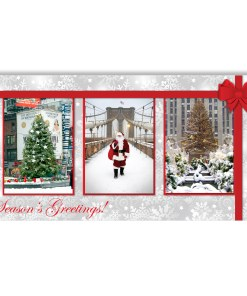 Christmas in New York - Money Gift Card Holder Set of 6