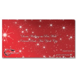 Santa on Poet Walk in Central Park, New York – Money Gift Card Holders Set of 6
