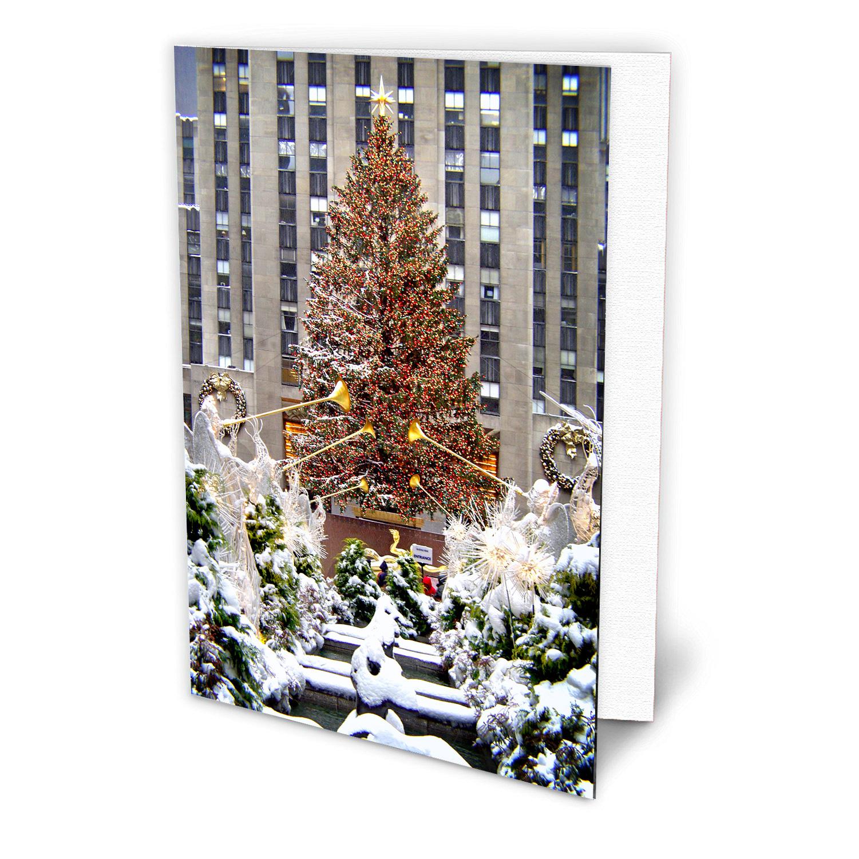 Rockefeller Center Christmas Tree New York - NYC Christmas Boxed ...
