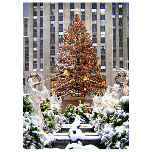 BMC3206 Rockefeller Center Christmas Tree Boxed Christmas Cards Set Of 12 from NY Christmas Gifts