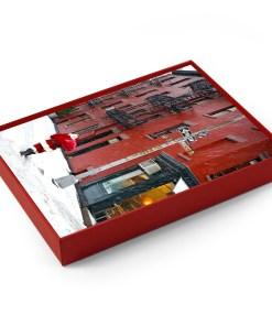 BMC3213 Santa Greenwich Village Gay Street Boxed Holiday Cards from NY Christmas Gifts