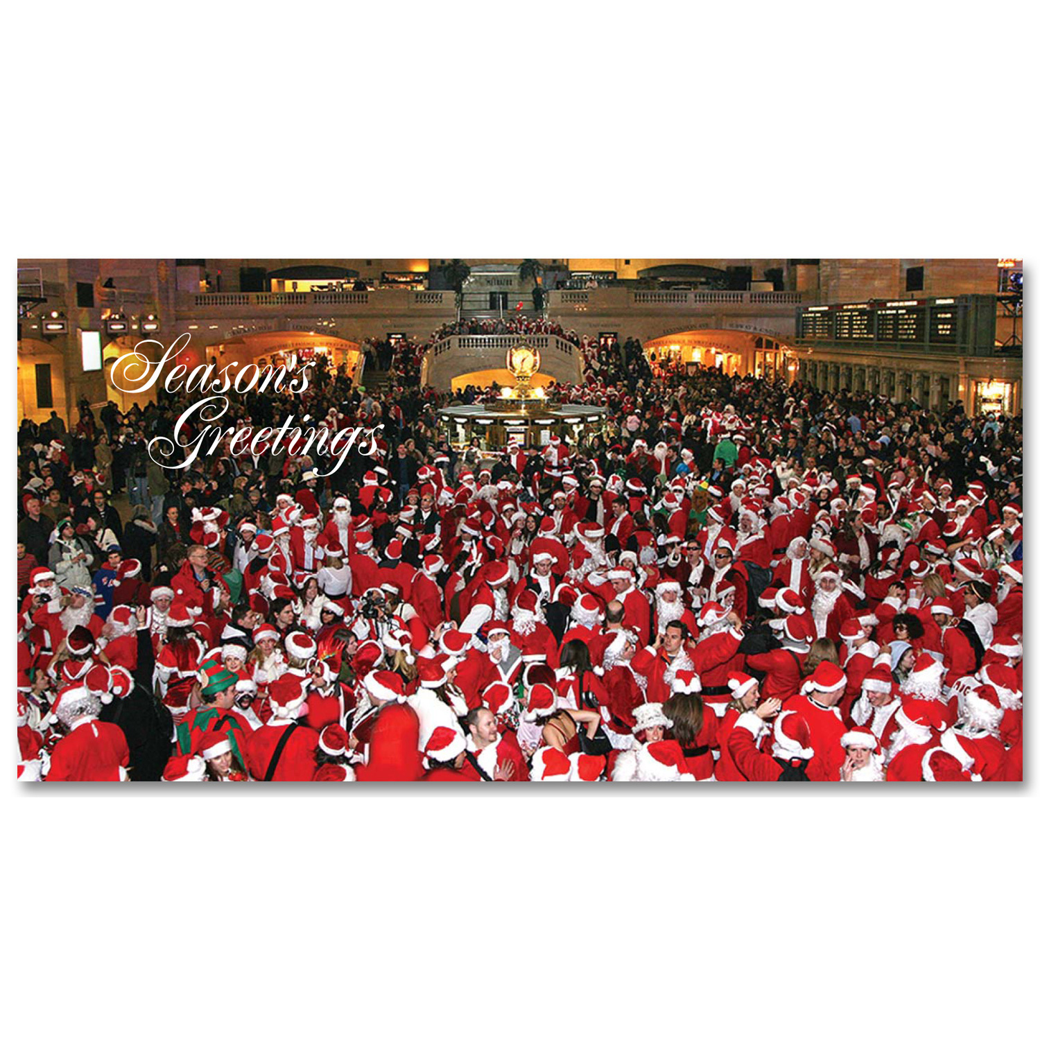 Santacon in grand central holidays money greeting cards holders santacon in grand central holidays money greeting cards holders set of 6 m4hsunfo