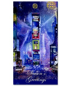 MCH-3229 New Years on Times Square Money Gift Cards from NY Christmas Gifts
