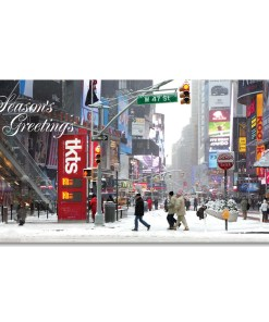 MCH-3242 Times Square Ticket Booth NYC Christmas Money Card Set of 6 from NY Christmas Gifts