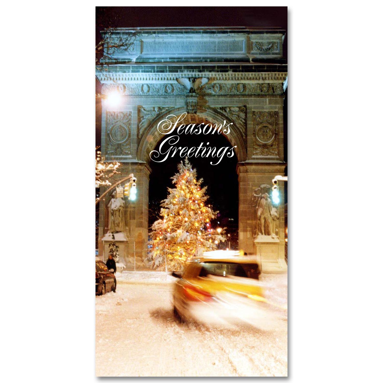Holidays Money Greeting Cards Holders Washington Arch Christmas