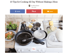 http://www.thekitchn.com/10-tips-for-cooking-all-day-without-making-a-mess-240283