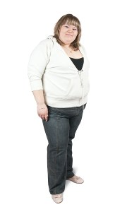 large woman need to lose weight