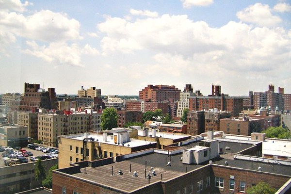 rooftop view when you move to Queens