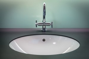 Clean and spotless sink