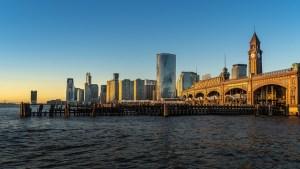 Hoboken New Jersey city.