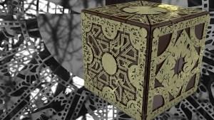 : A complex puzzle box.
