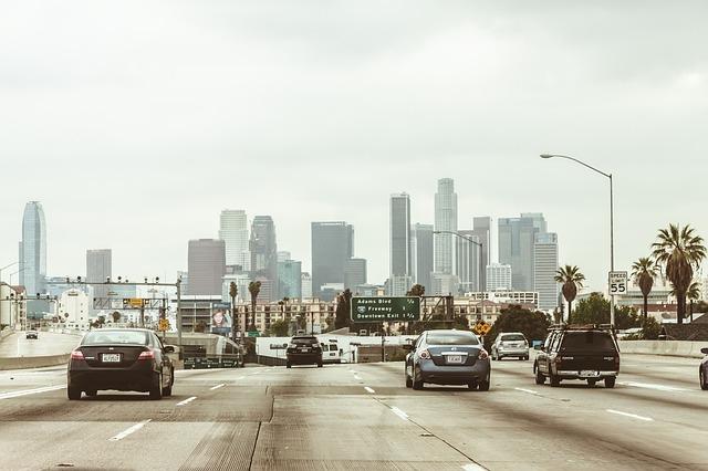 Road in LA