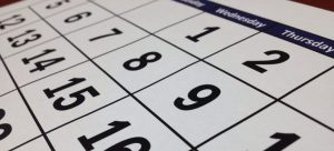 A calendar to set the date and organize and have a stress-free office relocation to NYC.