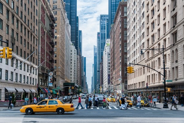 A typical street one will see after moving to NYC.