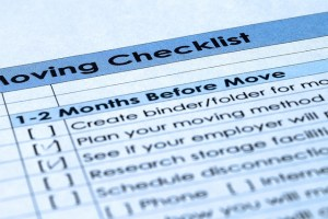 Moving Checklist - Moving from Bahrain to New York