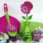 Floral broom