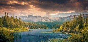 Nature in Canada.