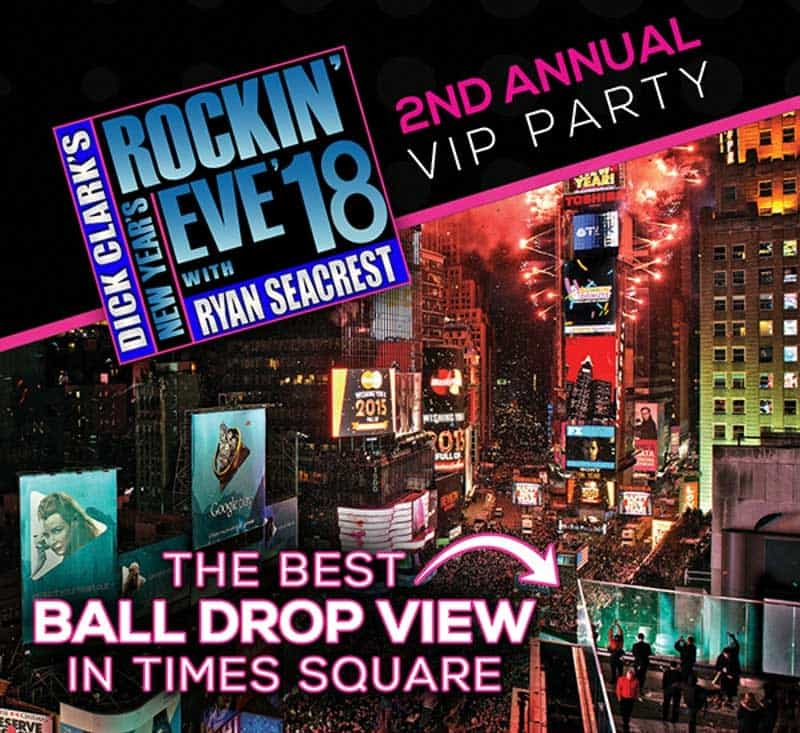 New Years Eve At Marriott Marquis New York Times Square NYE
