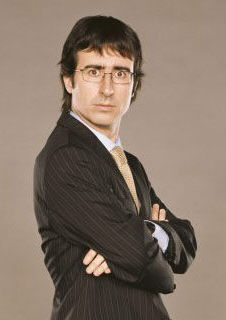 John Oliver demonstrates his genius at stand-up tonight at Comix