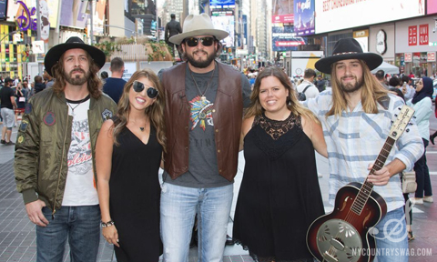 Scooter Brown Band with NYCountry Swag