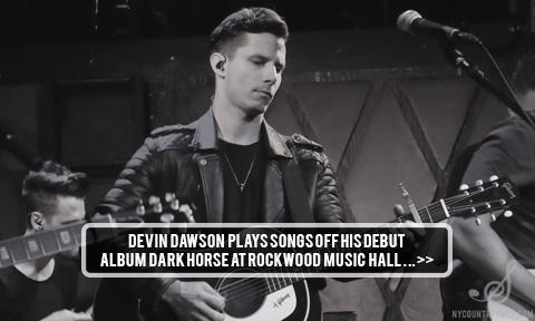 Devin Dawson Rockwood Music Hall