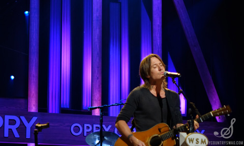 Keith Urban Grand Ole Opry I NYCountry Swag