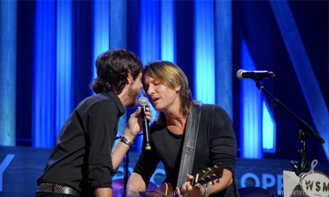 Keith Urban & Chris Janson Grand Ole Opry I NYCountry Swag